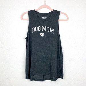 🦖 Dog Mom sleeveless tee tank top EUC